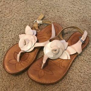 Born flower sandals. Size 7
